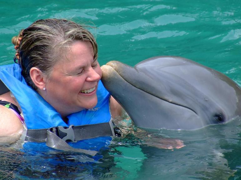 A Dolphin Kiss - Ocho Rios