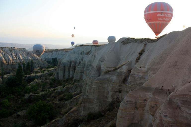 Balloons in the morning light - Turkey