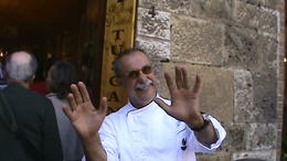 Dondoli Gelateria in San Gimignano Winner of gelato world competition , Dino D - May 2013