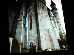 Feeling impressed at the castle of neuschwanstein Munich Germany , Jeffrey G - May 2015