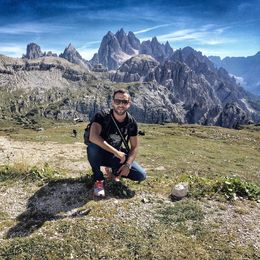 Up on the top of Dolomites mountain the view is just awesome!!! , Christos P - November 2015