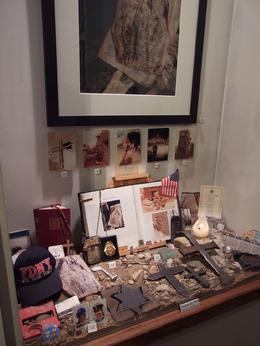 Some of the many artefacts on display, Helen S - March 2010