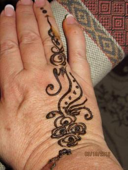 Got this henna tattoo at village , ktrend65 - October 2016