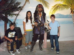 Captain Sparrow AKA Johnny Depp, Traveler from Texas - July 2011
