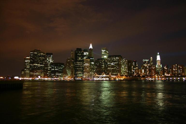 Manhattan at Night - New York City