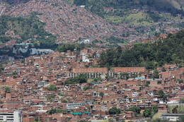 A view of the city of Medellin from Pueblito Paisa., Bandit - September 2012