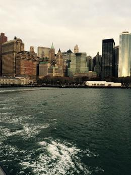 Picture of New York City taken from ferry in Statue of Liberty/Ellis Island ferry ride , Samantha H - November 2014