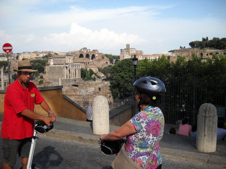 Overlooking the Forum - Rome