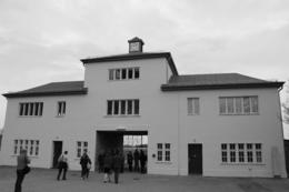 The entrance to Sachsenhausen Concentration Camp. , Warren B - April 2013