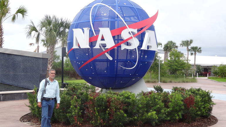 Saliendo del Centro Espacial Kennedy - Orlando