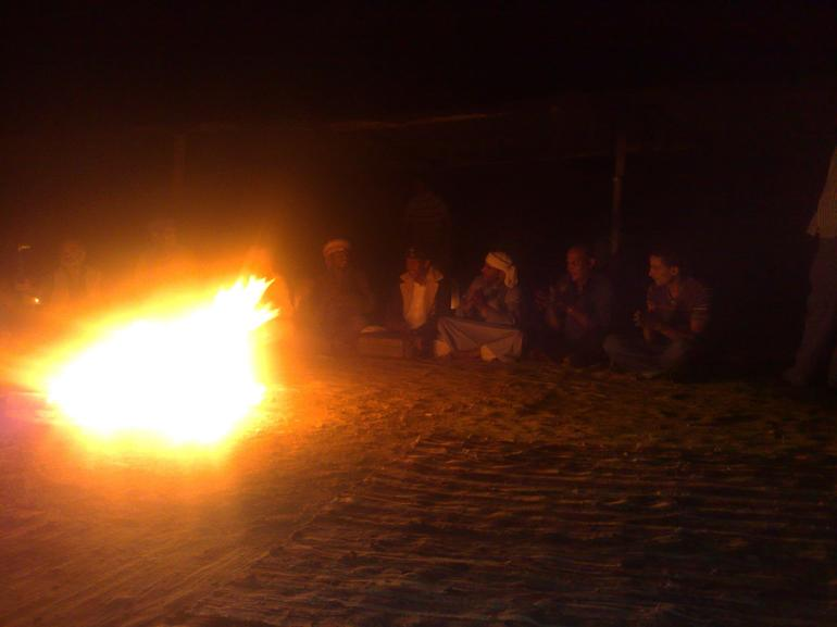 Sing along by the camp fire... - Sharm el Sheikh