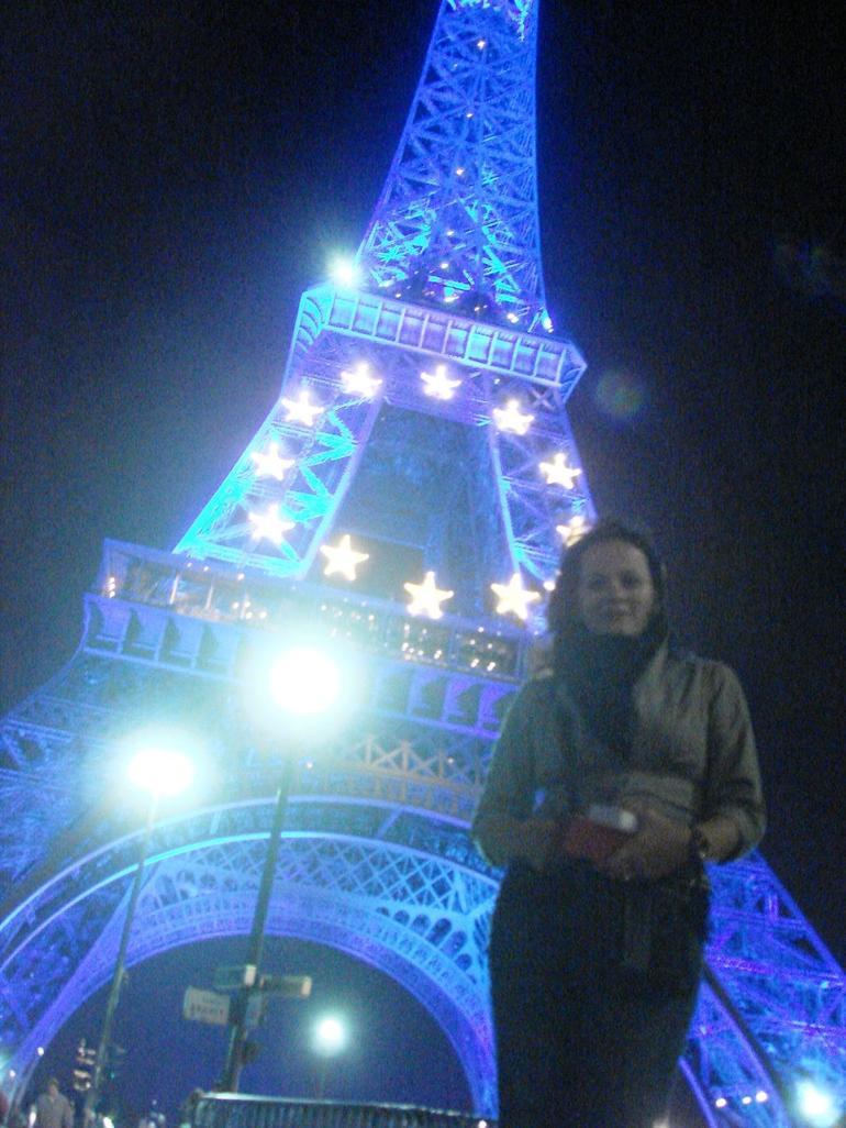 Start of Seine River cruise is at Eiffel Tower - Paris