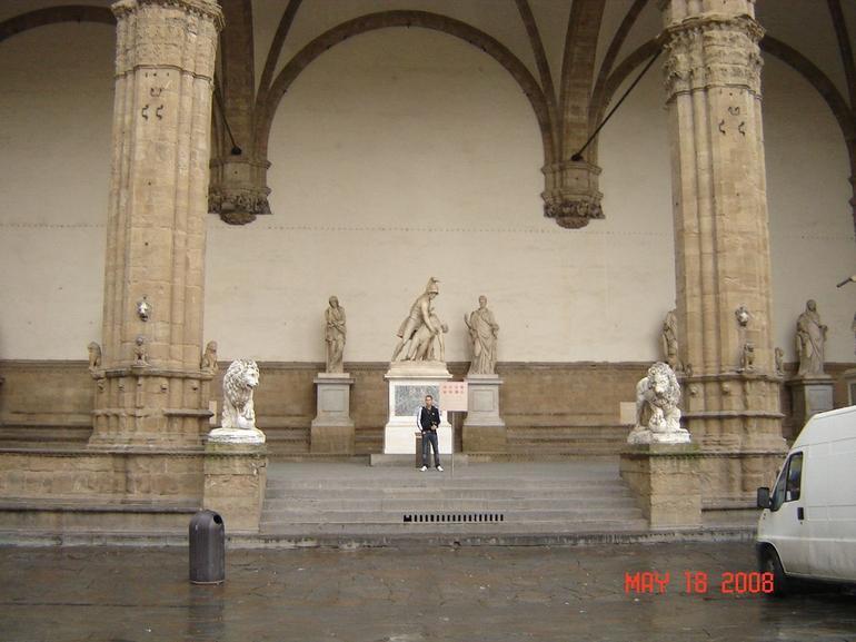 Uffizi Gallery Statues - Florence