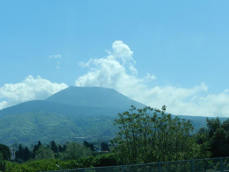 Vesuvius from Pompeii - Rome