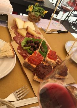 Our light lunch - delicious. , John B - October 2016