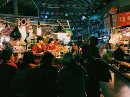 Gwangjang Market , Zachary S - November 2016