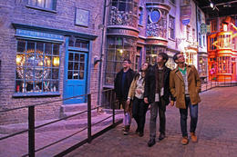 At Diagon Alley, feels real! , REY M - December 2016