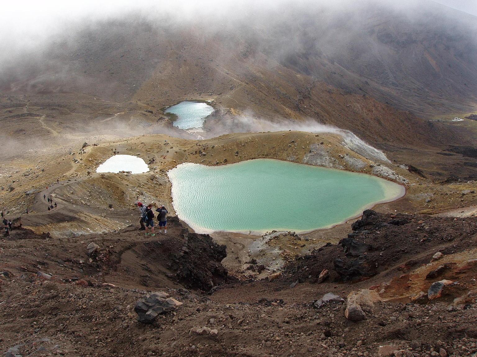 MAIS FOTOS, Tongariro Alpine Crossing Shuttle Options