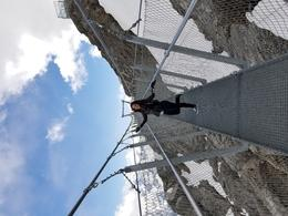 Highest suspension bridge in Europe. Not for those who fear heights. , channa0591 - June 2017