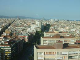 The view from our hotel. The Torre Catalyuna. , Katie - August 2012