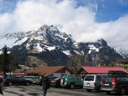 Base of Mt Titlis on arrival. - March 2008