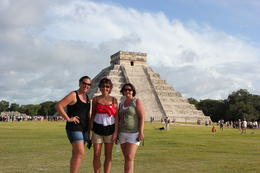 Jill, Rhonda and Kris at Chichen Itza. , Rhonda L - December 2013