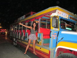 Chiva Bus in Cartagena , Jaz - July 2015