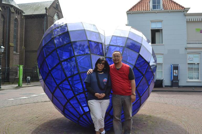 Delfts blue heart - Amsterdam