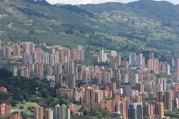 View of the El Poblado area of Medellin from Pueblito Paisa., Bandit - September 2012