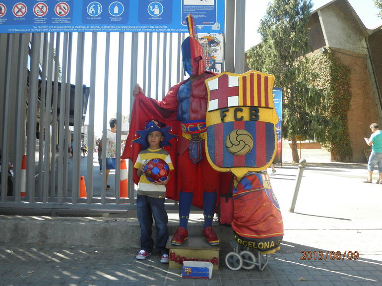 FC Barcelona Tour - Barcelona