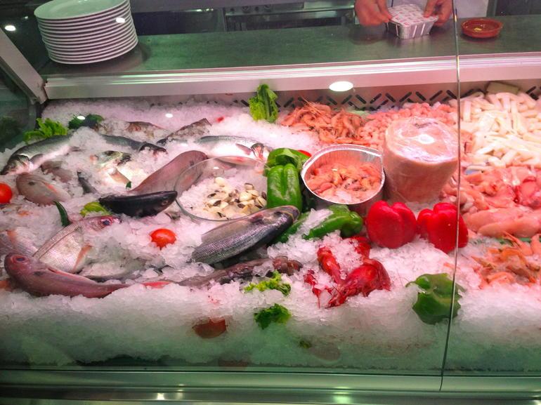 Fresh seafood - Costa del Sol