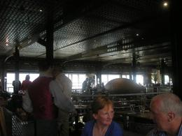 The interior of the restaurant., Kartik M - June 2008