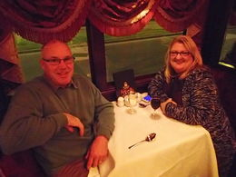 My husband and I thoroughly enjoyed our meal aboard the Colonial Tramcar , Teresa M - July 2015