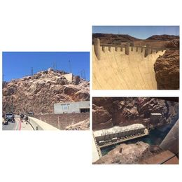The beautiful surrounding scenery of Hoover Dam and even greater inside tour of deep Hoover Dam. , Ivan - June 2016