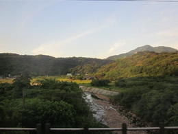 On the train ride back, you get to see some of the pretty countryside within Taiwan. , Thurman - August 2012