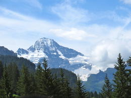 on our way up to Jungfraujoch! , Norvie A - July 2012