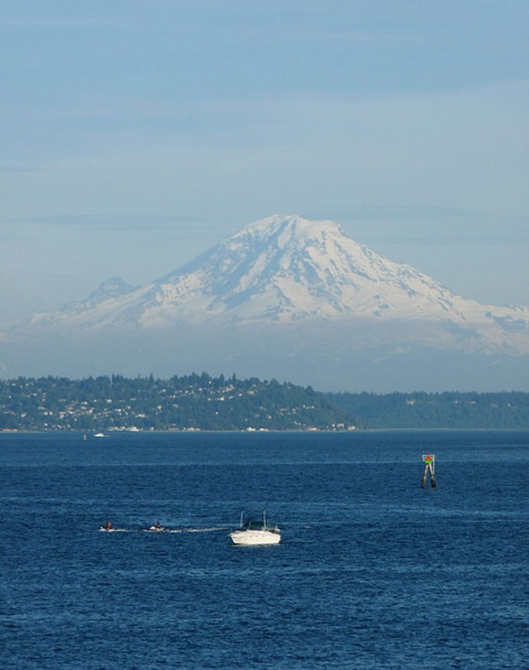 Mt Rainier - Seattle