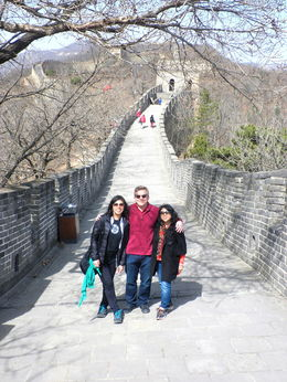 My niece from California was visiting us in Beijing and we decided to bring her to the Muntayu Great Wall, using Viator Tour. , Jennifer M - March 2015
