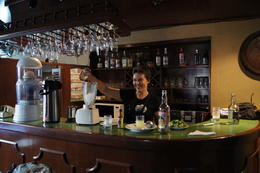 We used the bar of a nice Hostel and all people were very nice , NeuMarina - April 2013