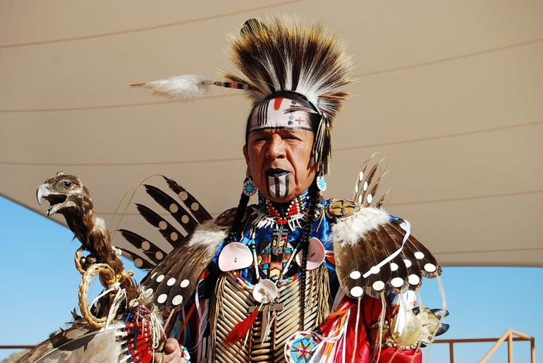 Native Indian Chief Grand Canyon - Las Vegas
