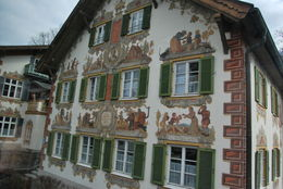 Famous fairy tale's paintings on this house's walls makes it interesting! , Athanasia T - May 2015