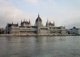 The impressive Parliament building viewed from the boat. , alan g - December 2015