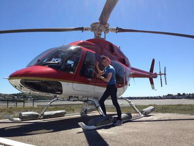 San Francisco  Groer Panoramarundflug Mit Dem Hubschrauber 2017  San Franc