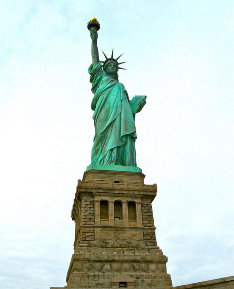 Statue of Liberty up close - New York City