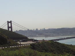 this was taken in a prime location above the bridge. , Angelo A - April 2014