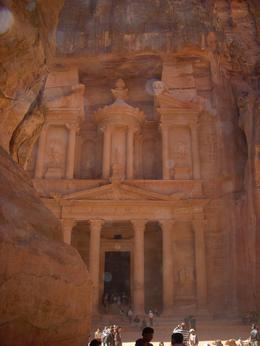This is the most infamous part of the entire Petra area. As seen in Indiana Jones. Inside you'll just find a large, empty stone room., Scott W - January 2010