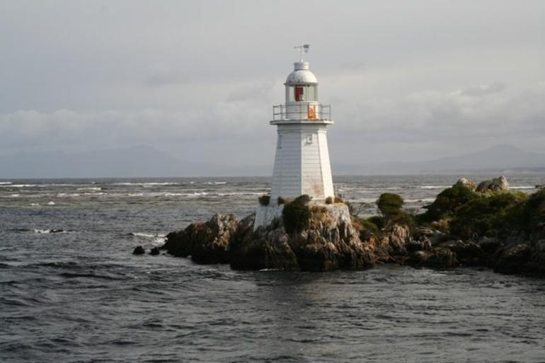 The lighthouse at Devils Gate - Tasmania