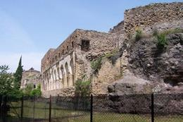 This is the view of Pompeii that I got as we were heading to the entrance. - May 2008