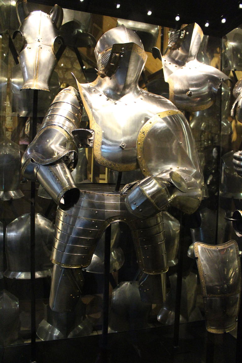 Wonderful Armour at the Tower - London