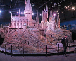 The huge scale model of Hogwarts , REY M - December 2016